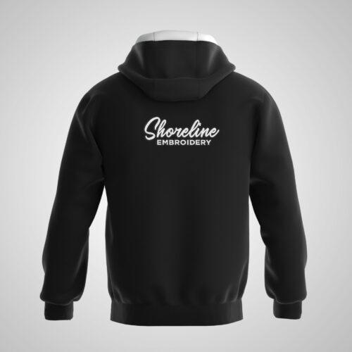 Embroidered Men's Hoodie Jacket